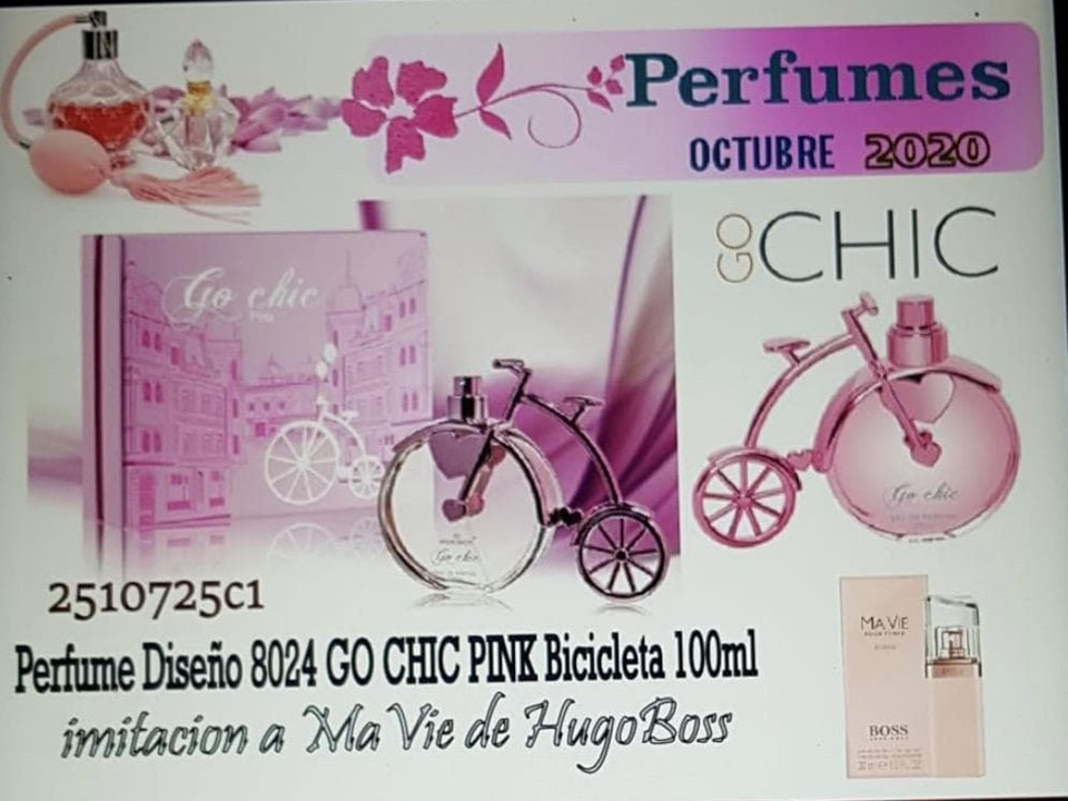 GO CHIC PINK 100ML PERFUME MUJER